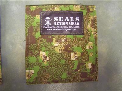 Seals Action Gear Biz Card Holder GreenZone
