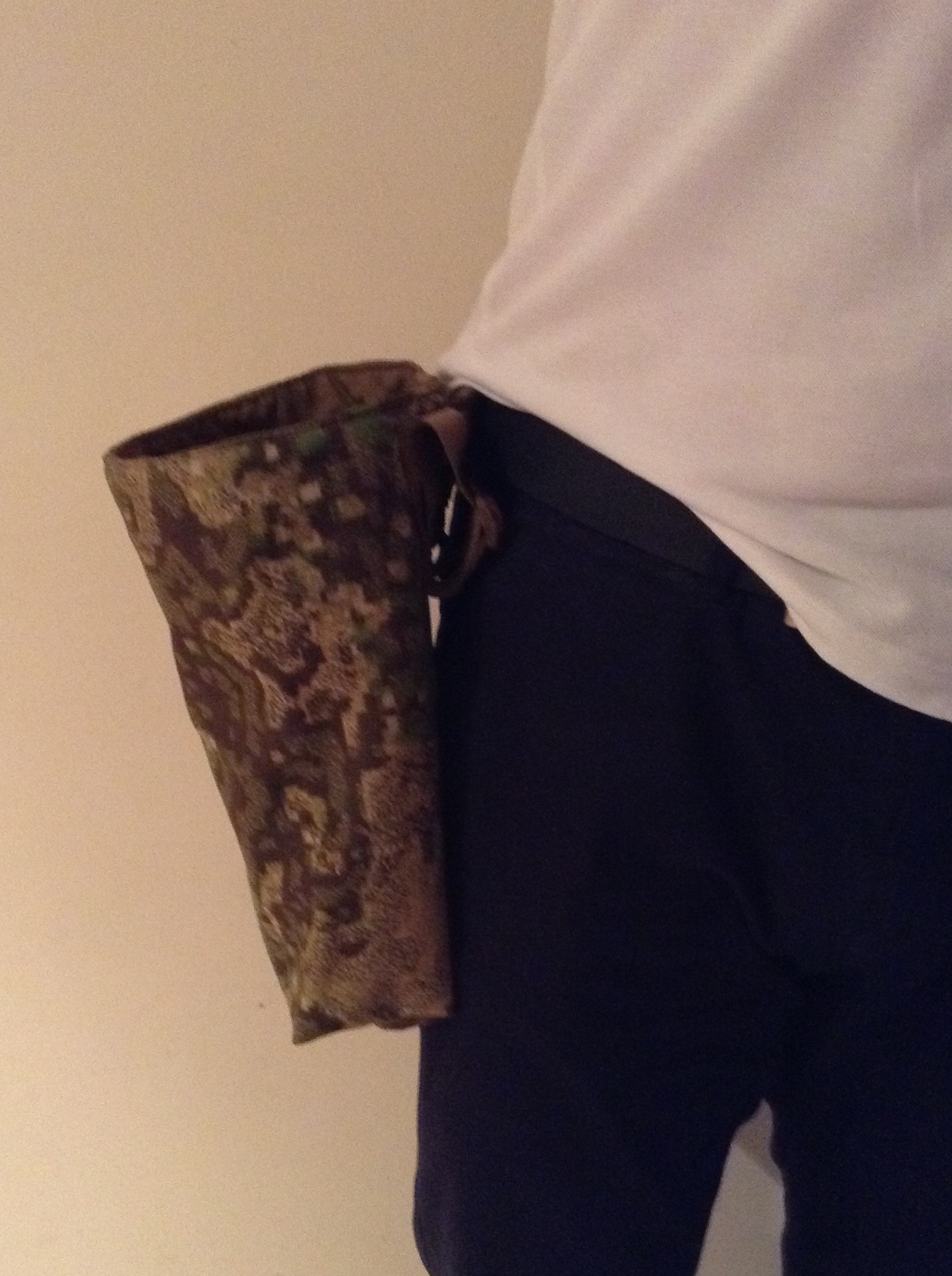 GreenZone, Dump Pouch Worn, Clan Tactical