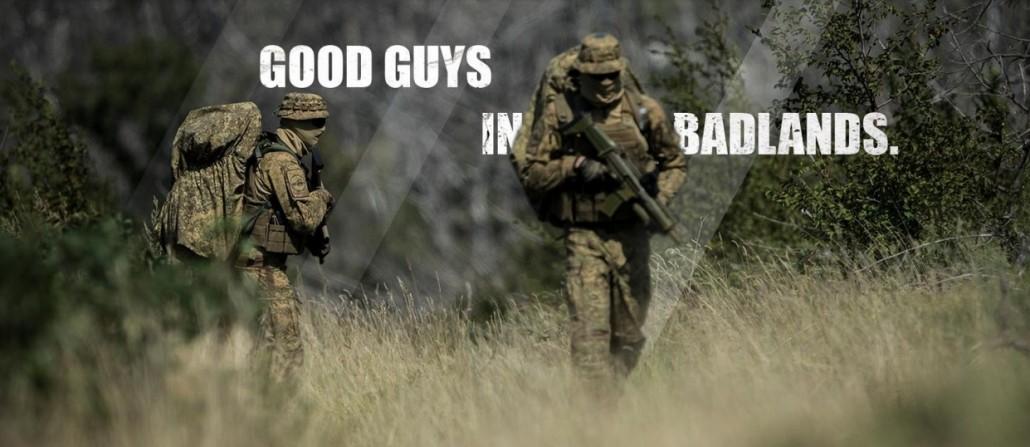 UF PRO BadLands - title