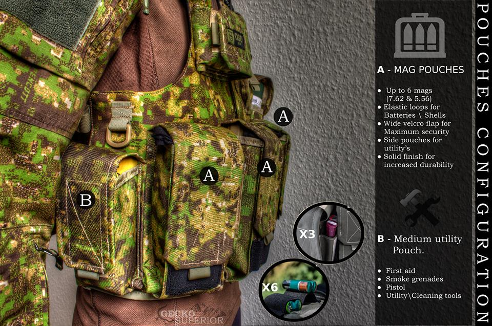 GreenZone-Chest Rig-Gecko Superior