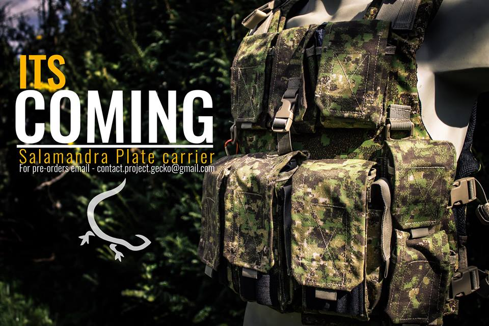 GreenZone-Salamandra Plate Carrier-Gecko Superior