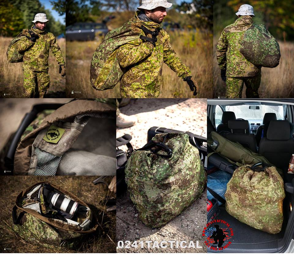 PenCott Greenzone made in Germany BE-X FronTier One LRRP Tarp 150 x 250 cm