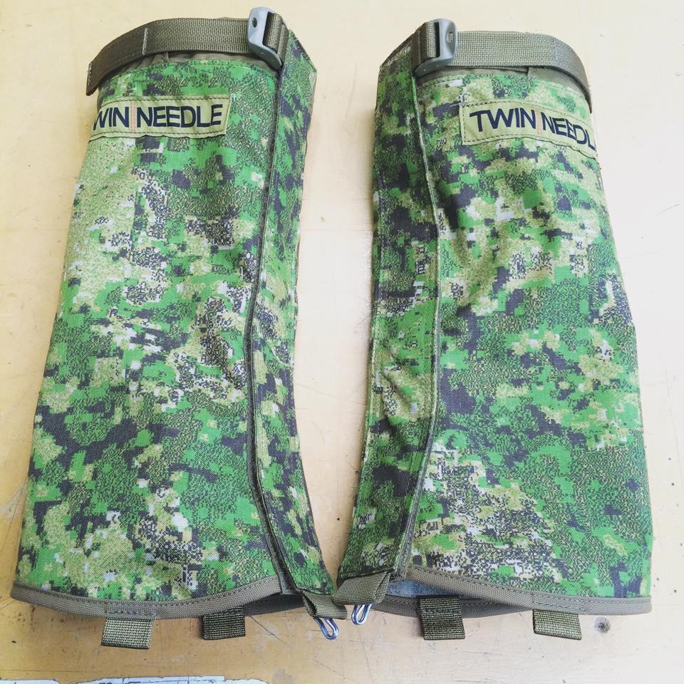 GreenZone, Gaiters, Twin Needle