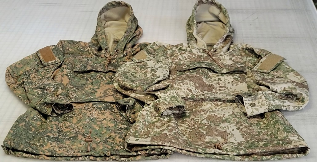 LeatherNeck and DevilDog anoraks from 0241 Tactical